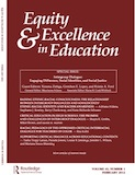 Equity & Excellence in Education, 45(1), reprinted by permission of Taylor & Francis, http://www.tandfonline.com