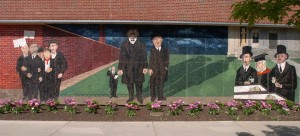 Sacco and Vanzetti Mural - Syracuse University - HBC