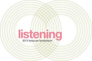 """Listening"" image provided by the Syracuse University Humanities Center"