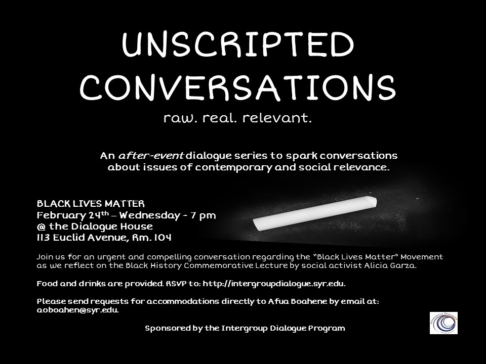 Unscripted Conversations - Feb 24th