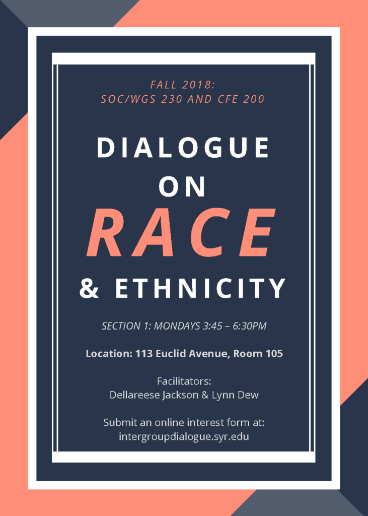 Dialogue on Race and Ethnicity